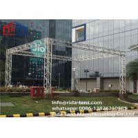 Quality 400 X 600mm 6082 6061 Aluminum Lighting Truss System , Line Array Truss wholesale