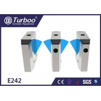 Quality Multiple Sensors Flap Barrier Turnstile Access Control For Metro Station wholesale