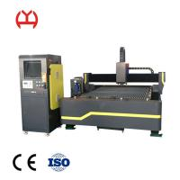 China 6MM Thickness Small Fiber Laser Cutting Machine , Metal Plate Cutting Machine Servo Motor on sale