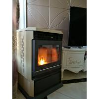 Quality Heat Resistant Indoor Pellet Stove For Residential Area / Office Building wholesale