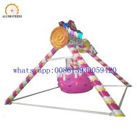 Buy cheap Amusement rides candy pendulum for kids theme park swing pendulum ride from wholesalers
