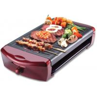 Quality 1500W electric glass grill of Digital and touch control small electric grills wholesale