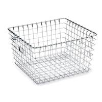 Quality High Strength Metal Sterilization Trays Wire Basket Stackable For Washing Processes wholesale