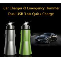 Quality Dual USB Car Charger 3.4A Universal USB Car Charger With Qualcomm 3.0 wholesale