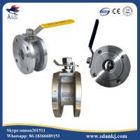 Quality ANSI-150 Stainless steel 304/316/316L clamp type ball valve with ISO5211 mounting pad hot sell wholesale