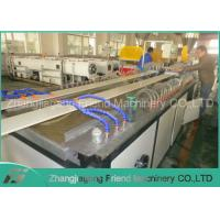 Quality 80-150kg/H Capacity Wpc Board Making Machine , Wpc Foam Board Production Line wholesale