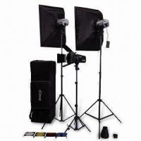 Quality 540W Exquisite Studio Flash Kits/Lighting, Suitable for Photography in Room and Outside wholesale
