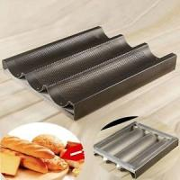 China Teflon coated baguette trays on sale