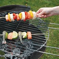 China Nonstick BBQ Grill Mesh 50 x 50 cm Reusable on sale