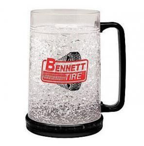 Quality PMB-450L plastic beer mug PS material beer mug custom LOGO ICE BEER MUG wholesale