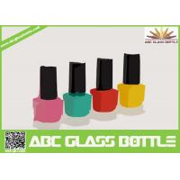 Quality hot design 8 ml square shaped pure glass nail enamel packing bottle wholesale