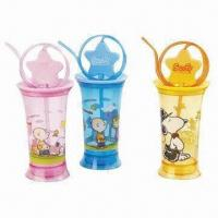 Quality BPA-free Straw Cups, Made of Plastic, Suitable for Promotional and Gift Purposes wholesale