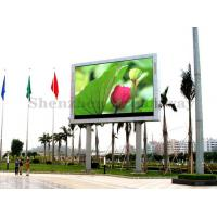 China Full Color Outdoor Advertising LED Display Screen SMD3535 P10 2 Years Warranty on sale