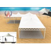 Buy cheap Membrane Sail Tensile Structure Architecture For Toll - Gate Water Resistance product