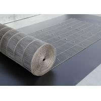 Quality Flex Stainless Steel Mesh Conveyor Belt For Bread Industry , Easy Clean wholesale