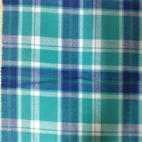 Quality 100% Cotton Flannel Yarn Dyed Fabric Skin Friendly For Girls And Women Dress wholesale