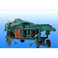 China Rapeseed Peanut Vibration Screening Machine Grain Cleaning Machine For Food on sale