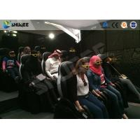 Quality Gaming And Party Center 5D Theater System With Joystick For Motion Effects Easy Edit wholesale