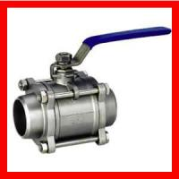 China 3 Way Trunnion Mounted Ball Valve , Flanged Forged Steel Ball Valve on sale