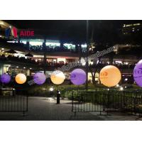 Cheap Colorful Inflatable Lighting Decoration Standing Ball advertising Tripod Ball for sale