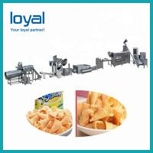Quality Automatic salad bugle snacks food extruder machine/production line/making equipment wholesale