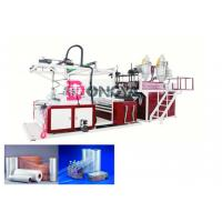 Quality Fast Speed Automatic Stretch Film Rewinding Machine / Cling Film Extruder 600 - 1000mm Width wholesale