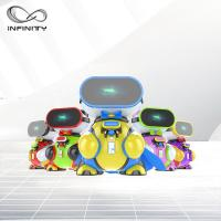 Quality Attractive Colorful Funny VR Game Children VR Simulator / 9D Virtual Reality Machine wholesale