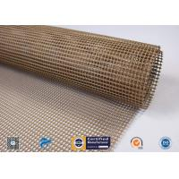 Quality Non-Stick PTFE Coated Fiberglass Open Mesh Conveyor Belt For Food Drying wholesale