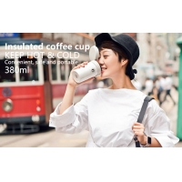 Quality Pink BSCI 380ml Vacuum Insulated Stainless Steel Travel Mug wholesale