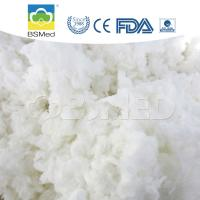 Bleached 100% Cotton Raw Material , First Aid Organic Cotton Material