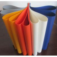 Quality Colorful PVC Coated Tarpaulin Polyester Fabric In Roll 1000D X 1000D 20X20 650 Gsm wholesale
