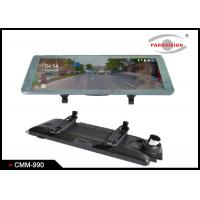 Quality Super HD 1080P DVR Rear view Mirror Monitor / Dual Lens Car Black Box Video Recorder wholesale
