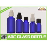 Cheap Made In China 10ml 15ml 20ml 30ml 50ml Blue Oil Glass Bottle,Amber Oil Glass for sale