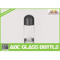 Cheap Hot Sale 50 ml Frosted Roll On Glass Bottle With Crew Cap for sale