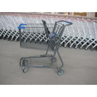 China Customizable Child Supermarket Shopping Trolleys , Retail Shopping Carts on sale