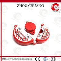 Quality High quality durable polypropylene Gate Valve Lockouts rotating lock wholesale