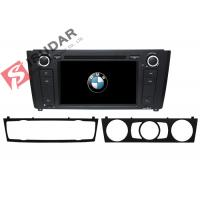 Cheap 1 Series E81 / E82 / E87 BMW DVD GPS Navigation Android 6 Car Stereo Support 4G for sale