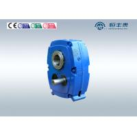 China Cast Iron Engine / Mixer Hollow Shaft Mounted Worm Reduction Gearbox on sale