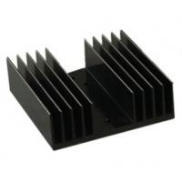 China Black Anodized Aluminum Heat sink Extrusion Profiles , Aluminum Radiator on sale