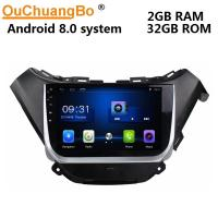 Quality Ouchuangbo car multi media radio android 8.0 for Chevrolet Malibu 2016 support  SWC wifi 4 Core CPU BT music wholesale