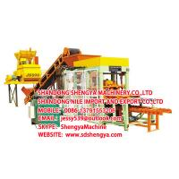 China QT4-15 Fully automatic hydraulic block making machine on sale