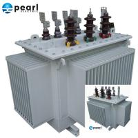 Quality High Efficiency Oil Immersed Transformer 11 kV - 3500 kVA Low Loss Low Noise wholesale