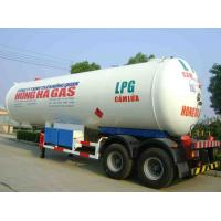 Buy cheap CLW brand Double axles LPG gfas tank semi-trailer for sale, double BPW/FUWA  axles lpg gas propane trailer for sale product