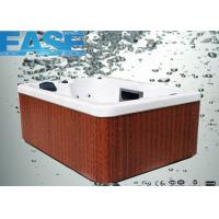 Quality Square acrylic whirlpool massage outdoor hydro hot tub for 3 - 4 adults, OEM / ODM offer wholesale