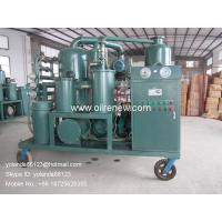 China High Vacuum Transformer Oil Regeneration System, Oil Recycling Purifier ZYD-I-300(300LPM) on sale