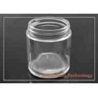 Quality 3.5 oz Straight Sided Clear Glass Bottles Glass Cookie Jars D60mm×H68mm wholesale