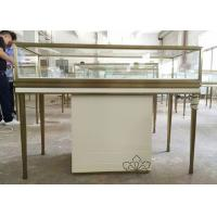 Quality Custom Logo Jewelry Retail Display Fixtures Stainless Steel Strong Frame wholesale