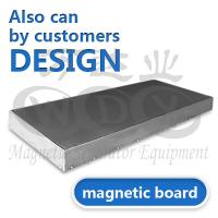 Quality High Performance Stainless Steel Magnetic Board For Electromagnetic Separator wholesale