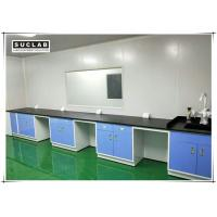 Quality Steel Lab Wall Bench With Corrosion Resistant Worktop In Pharmaceutical Company wholesale