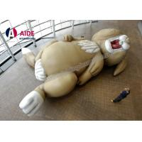 Quality Heavy Giant Inflatable Rabbit , Cartoon Inflatable Party Decorations Animals wholesale